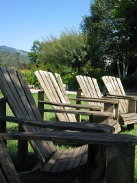 Adirondack Chairs at Schmidt Family Vineyard