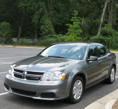 Our Wheels for the Trip - a Dodge Avenger