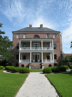 The Joseph Manigault House - Built in 1803 - Federal Style Architecture