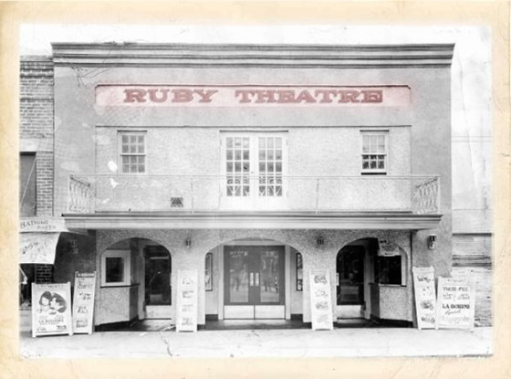 Historic Ruby Theater Wine And History Visited