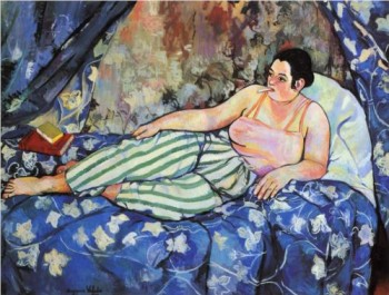 The Blue Room by Suzanne Veladon, 1923