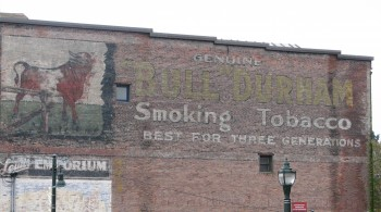 My Favorite Mural in Port Townsend - Not that I go for smoking advertising, but this is very cool!