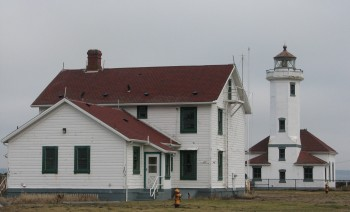 Point Wilson Lighthouse at Fort Worden