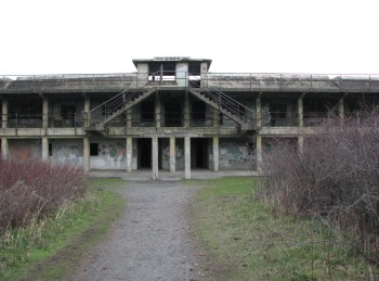 Battery Kinzie at Fort Worden - Construction Began 1908