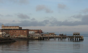 Port Townsend Waterfront - Once the Sky Began to Clear