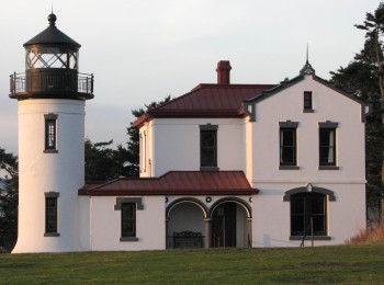 Admiralty Head Lighthouse at Fort Worden
