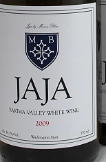2009 JaJa White, by Maison Bleue Winery
