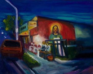 Finding Jesus at the Taco Stand by Margaret Garcia