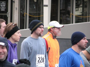 Jon Before the Tri Cities Half Marathon