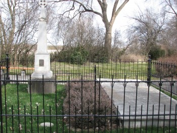 The Mass Grave Where the Whitmans and Eleven Other Victims of the Raid Are Buried