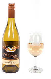 Melrose Vineyards 2010 Pinot Gris