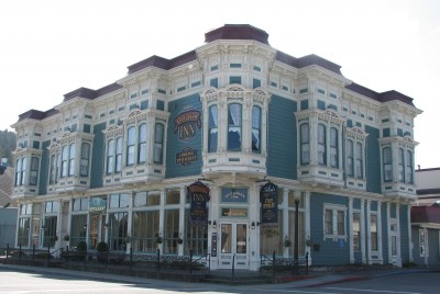 Victorian Inn - Ferndale, California.  Built 1890.  Constructed of California Redwoods.