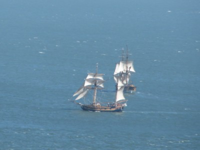Pirate Ships on San Francisco Bay