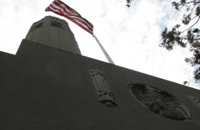 Coit Tower From Below