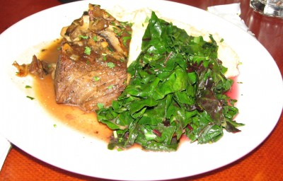 My Braised Short Ribs at the Station House Café