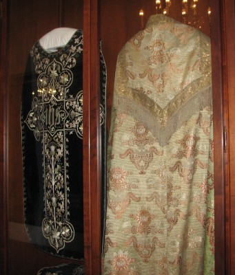A Couple of the Vestments that Serra Wore