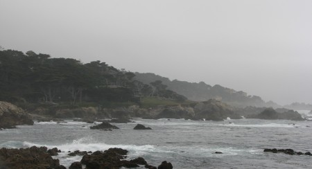 A Cloudy Day at the 17 Mile Drive