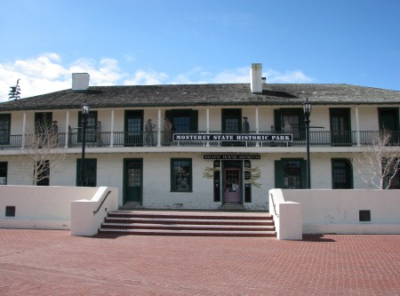 Pacific House Museum - Built 1847 - Adobe Architectural Style