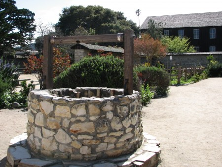 Well at the Cooper-Molera Adobe