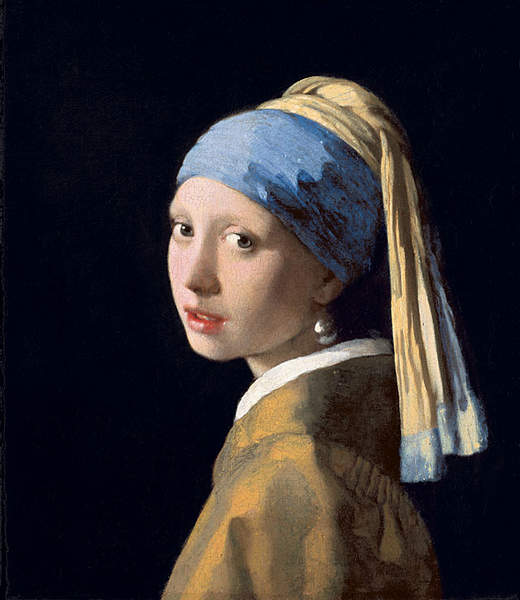 Girl with a Pearl Earring - Johannes Vermeer - ca. 1665