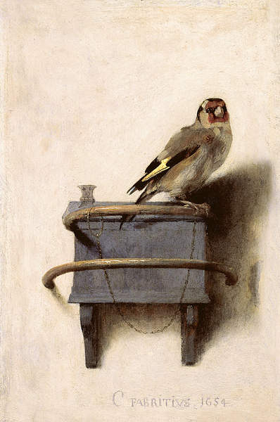 The Goldfinch - Carel Fabritius - 1654