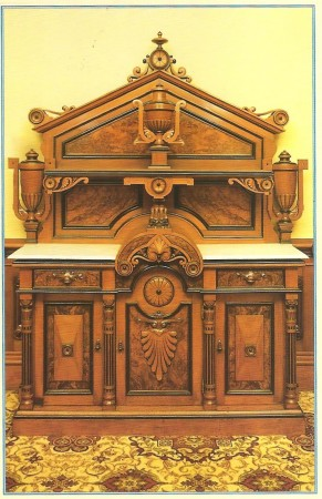 Dining Room Sideboard - With Locomotive Motif