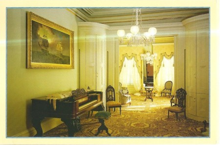 The Music Room in the Leland Stanford Mansion