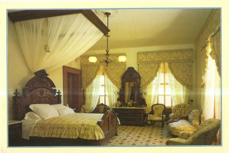 The Master Bedroom of the Leland Stanford Mansion