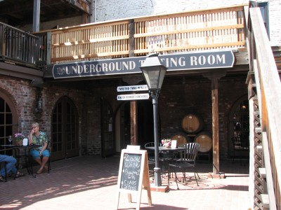 The Underground Tasting Room in Old Sacramento