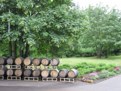 Chehalem Barrels - Waiting for Some Wine!
