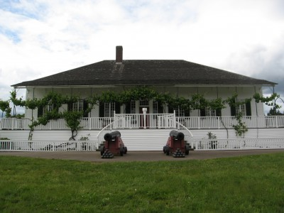 The Chief Factor's Residence at Fort Vancouver