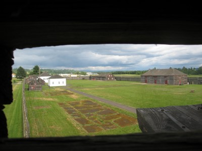 The View from the Bastion at Fort Vancouver