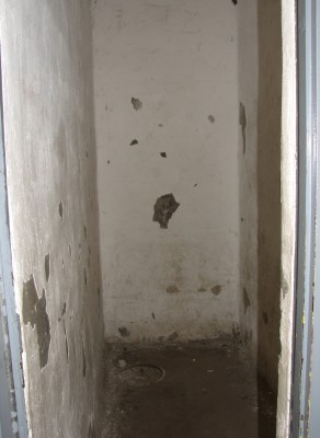 Solitary Confinement - These Cells Are About 2 Feet Wide and 6 Feet Long