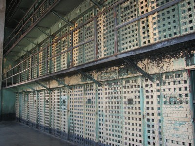 A Row of Cells in Cellhouse 2 - Built 1899