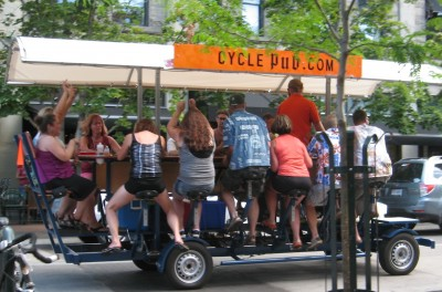 Cycle Pub - A Pedal Powered Pub Crawl with your Friends!