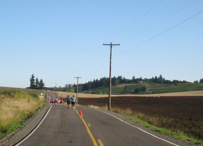 The Long Hill in Mile 5