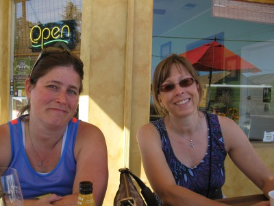 Allysa and Shelley - Waiting For Lunch