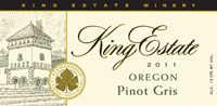 King Estate Signature 2011 Pinot Gris