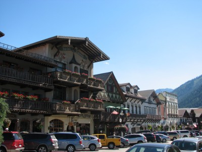 The Main Drag in Leavenworth