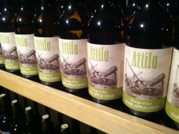 "Attila ""Scourge of God"" Hard Cider"