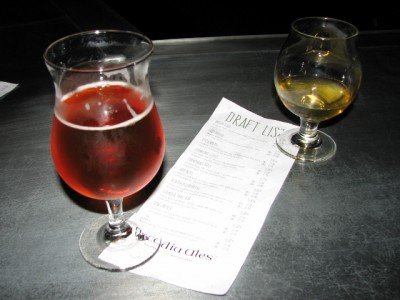 Arcadia Brewery Beers – That was not a red ale, but it was that red…