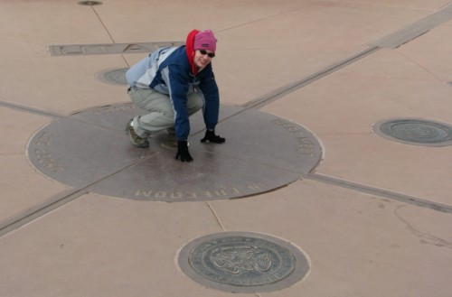 Me at the Four Corners!