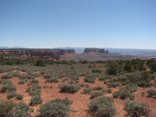 Canyonlands National Park – looking towards Junction Butte