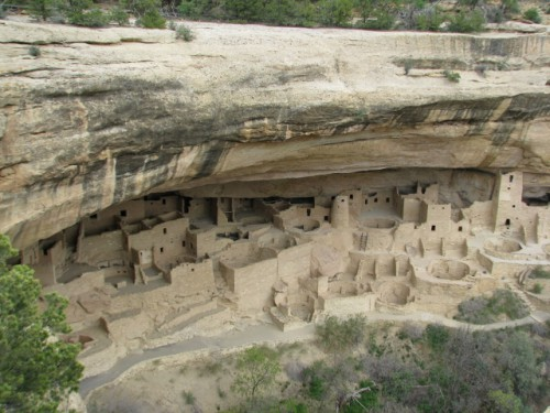 Cliff Palace – the largest cliff dwelling at Mesa Verde