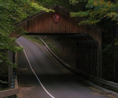 Covered Bridge on Pierce Stocking Scenic Drive