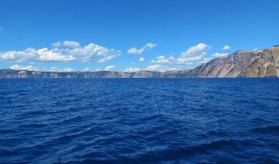 Crater Lake from the Boat Tour