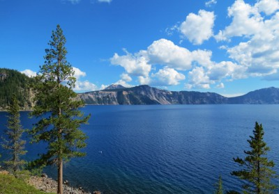 Crater Lake from the Cleetwood Cove Trail