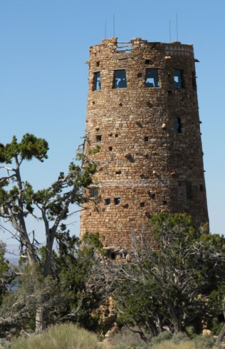 The Desert View Watchtower – Built 1932