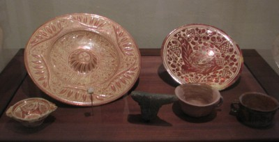 Dishware Found at the Palace of the Governor's