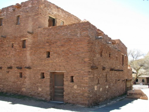 Hopi House – Built 1905 – Modified Hopi Pueblo Architectural Style